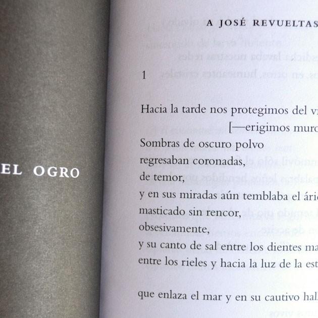 La oración del ogro, Jaime Reyes